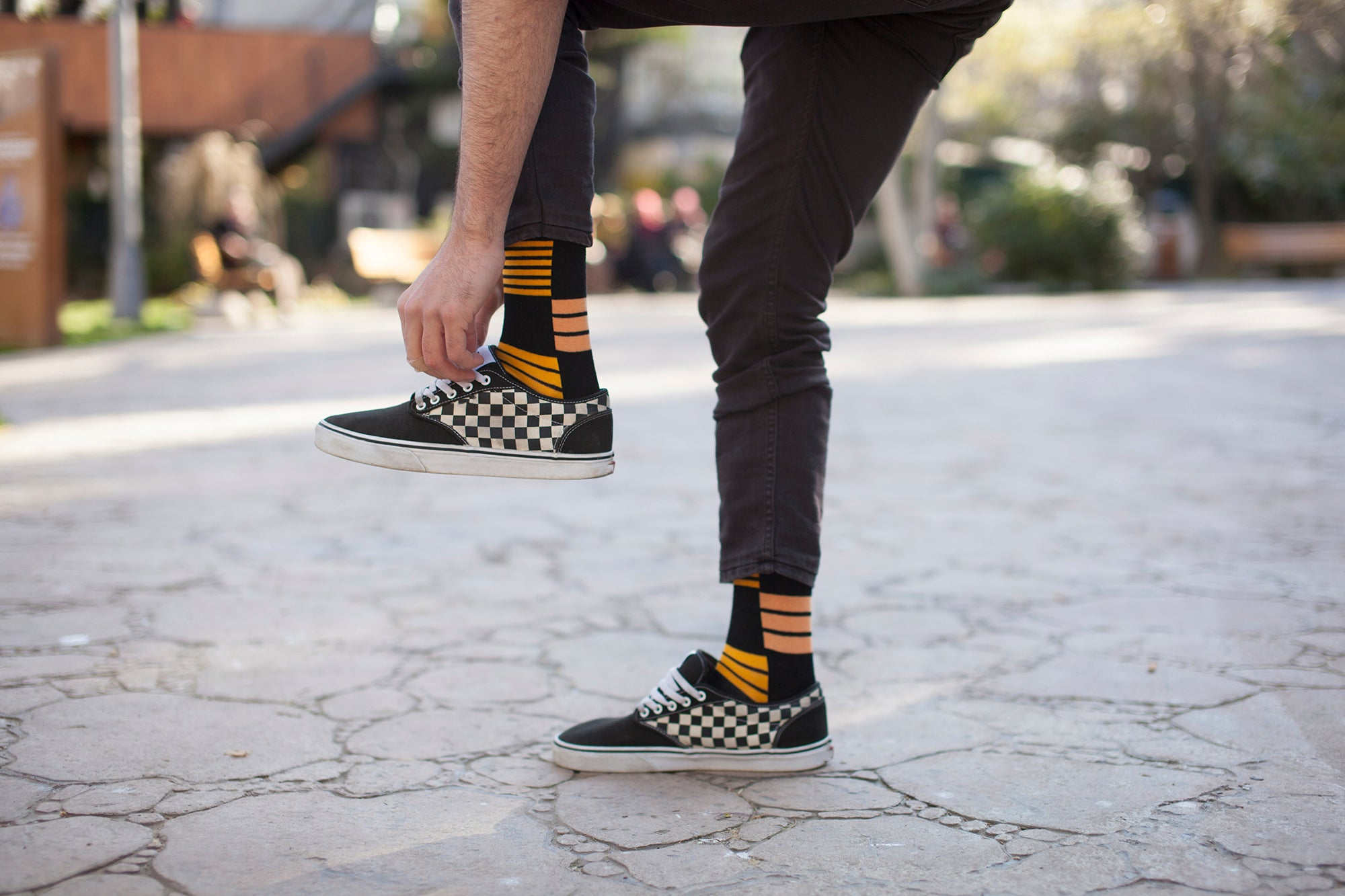 Men's Flame Mix Set Socks