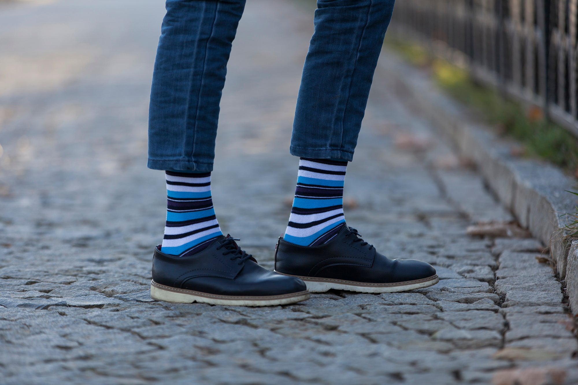 Men's Traditional Stripes Socks
