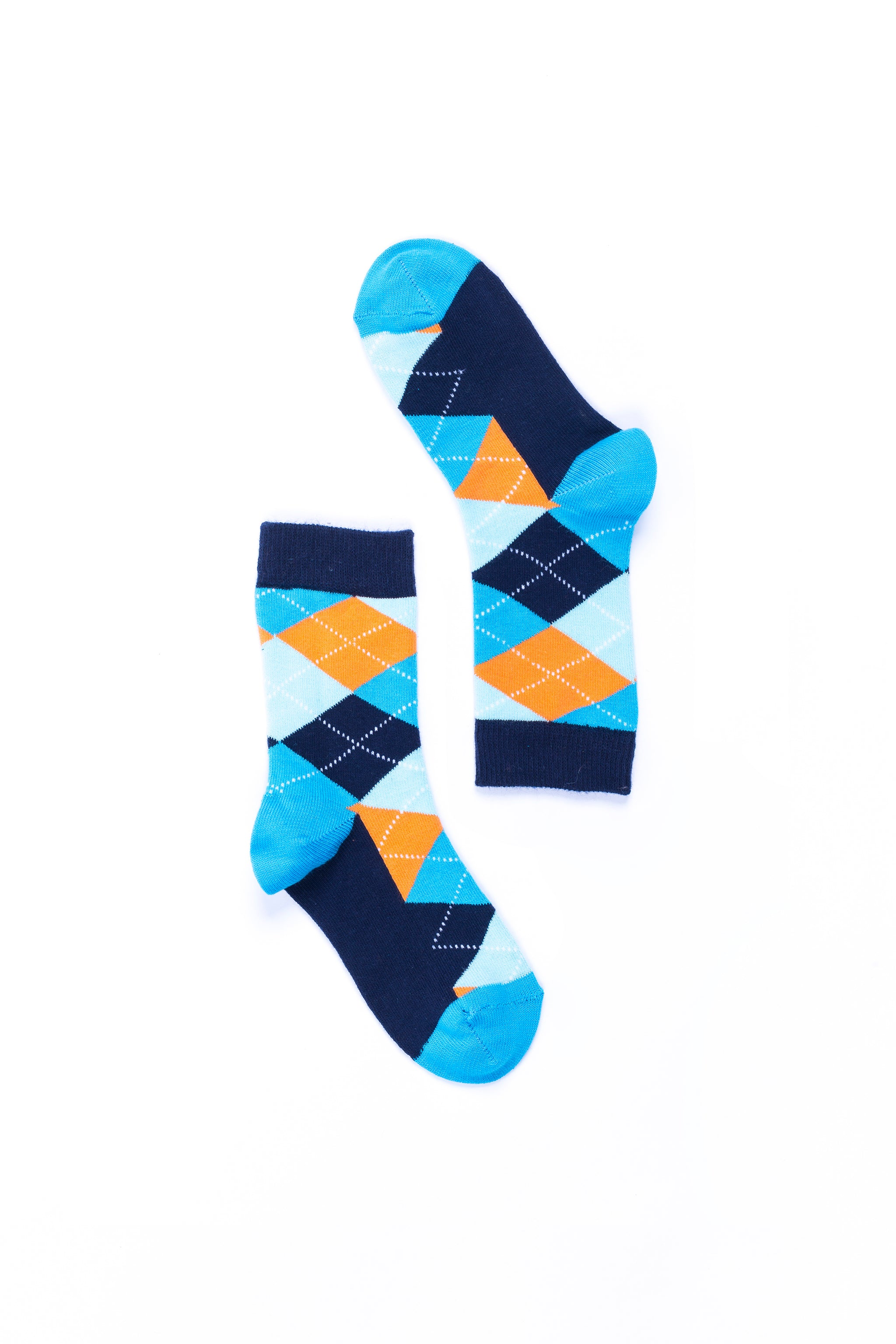 Women's Vibrant Sky Argyle Socks