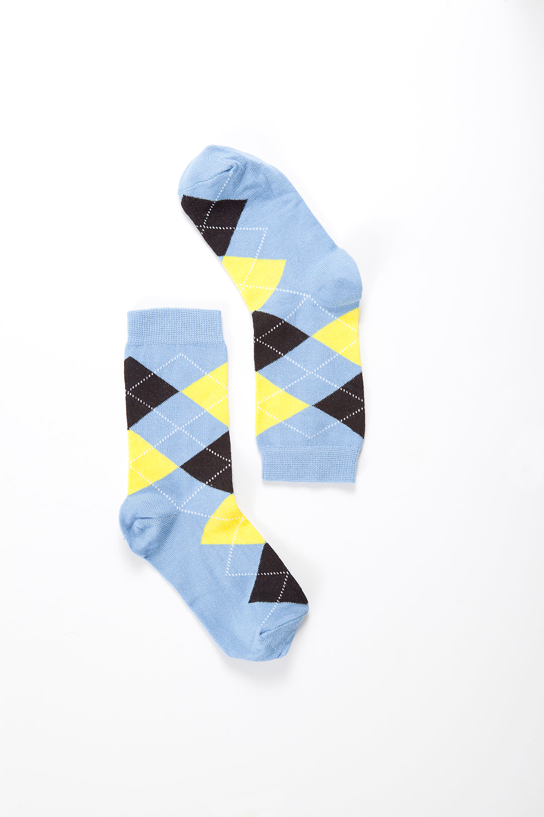 Argyle 4008  Single Pair Women's Crew Dress Socks