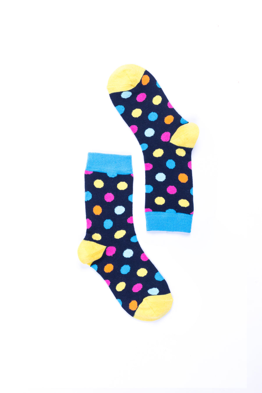 Women's Gold Marine Dot Socks