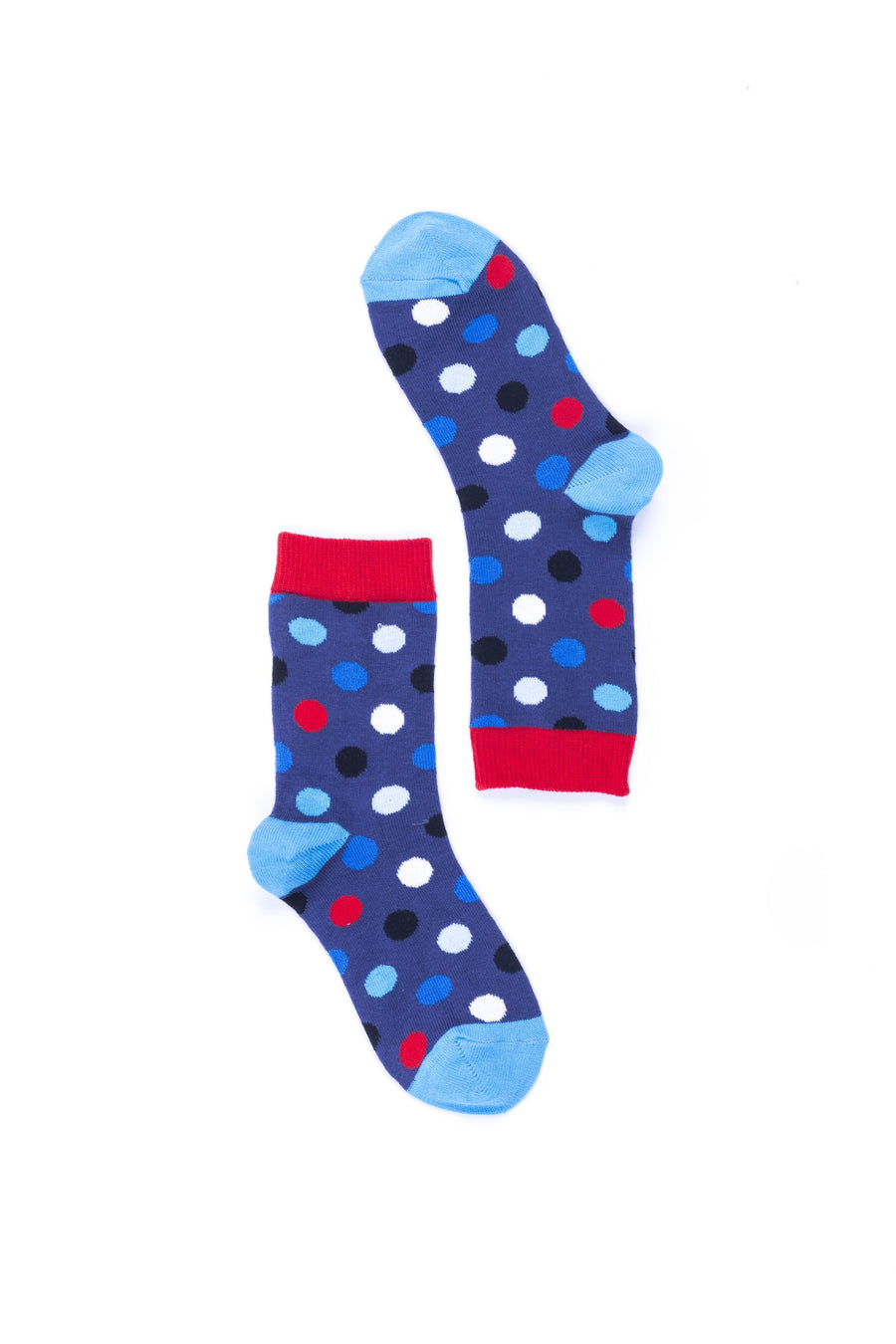 Women's Red Admiral Dot Socks