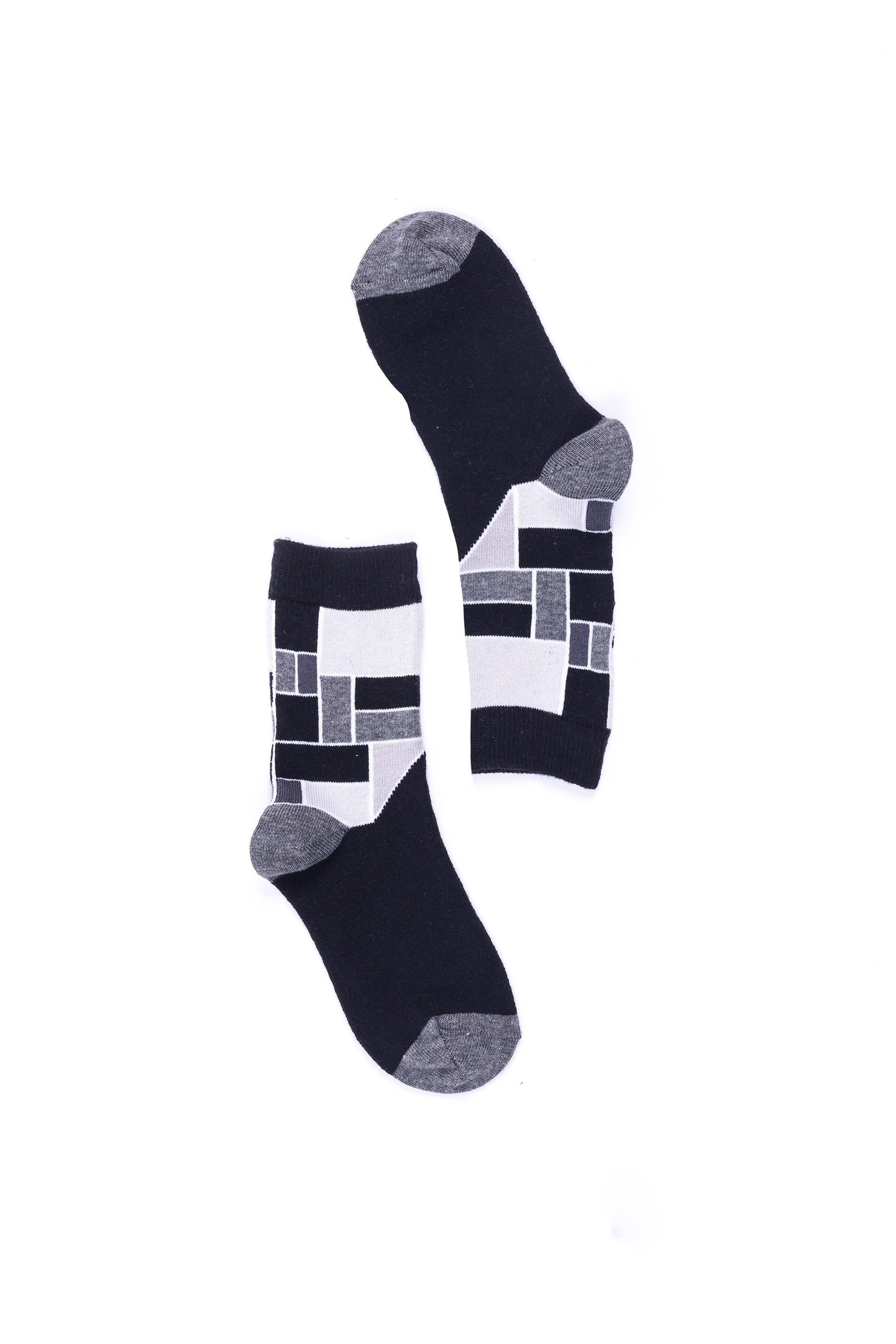Patterned 4071  Single Pair Women's Crew Dress Socks
