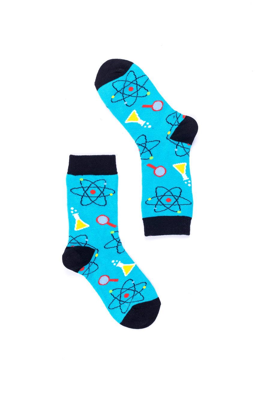 Science Chemistry 4039  Single Pair Women's Crew Dress Socks