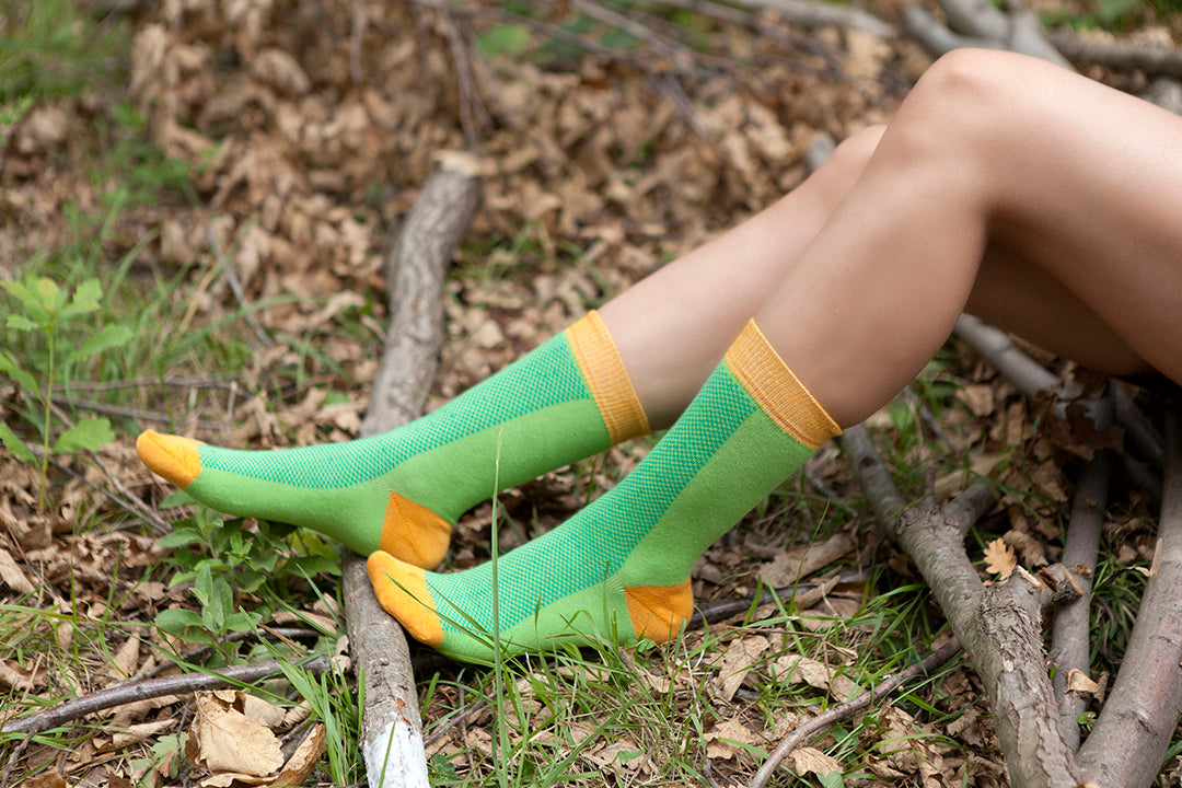 Women's Green Marmalade Socks