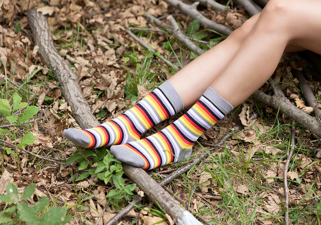Women's Cloud Stripe Socks