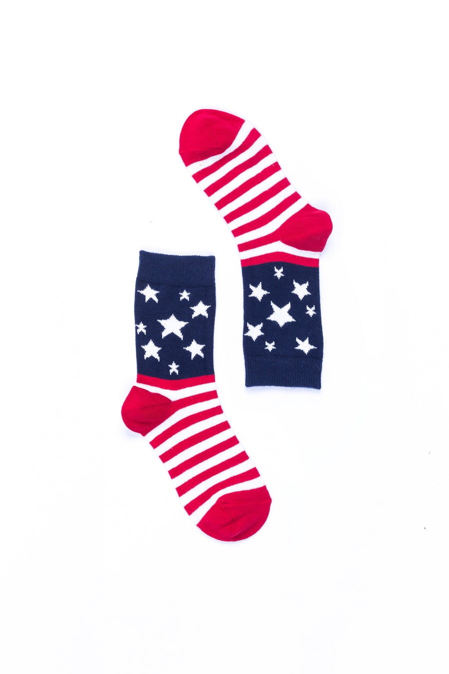 Women's Usa Flag Stars Socks