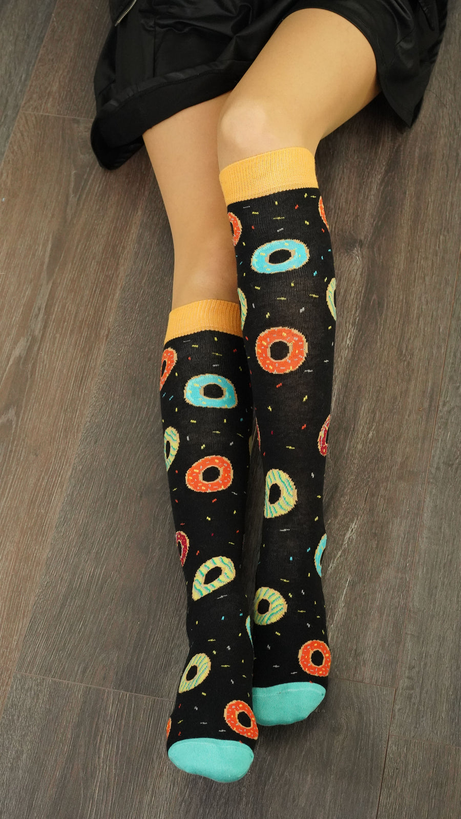 Women's Donuts Knee High Socks