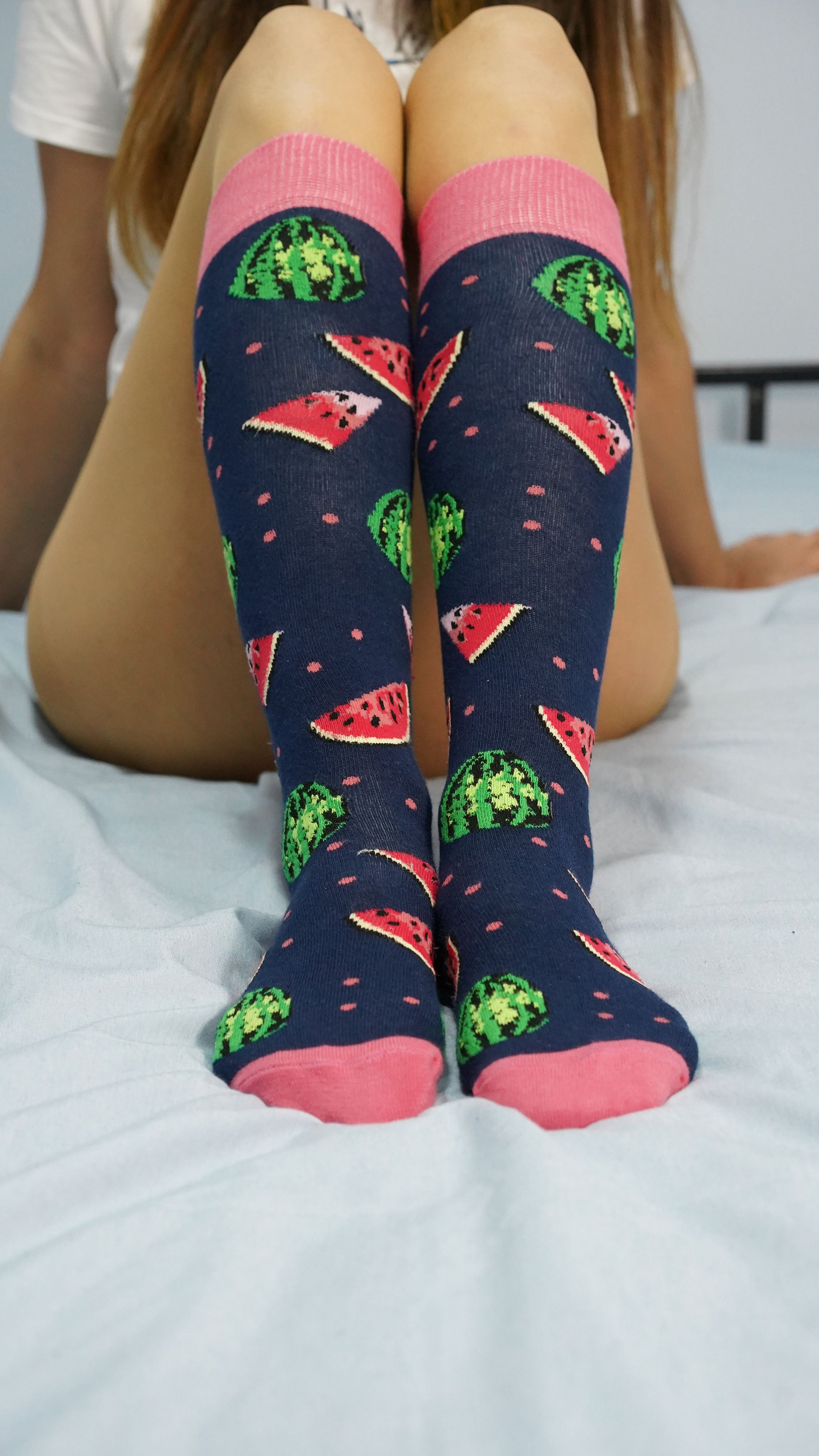 Women's Watermelon Knee High Socks