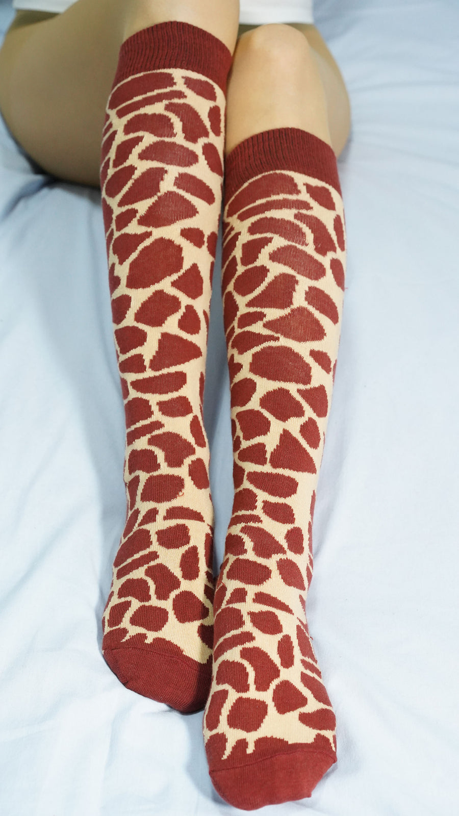 Women's Giraffe Knee High Socks