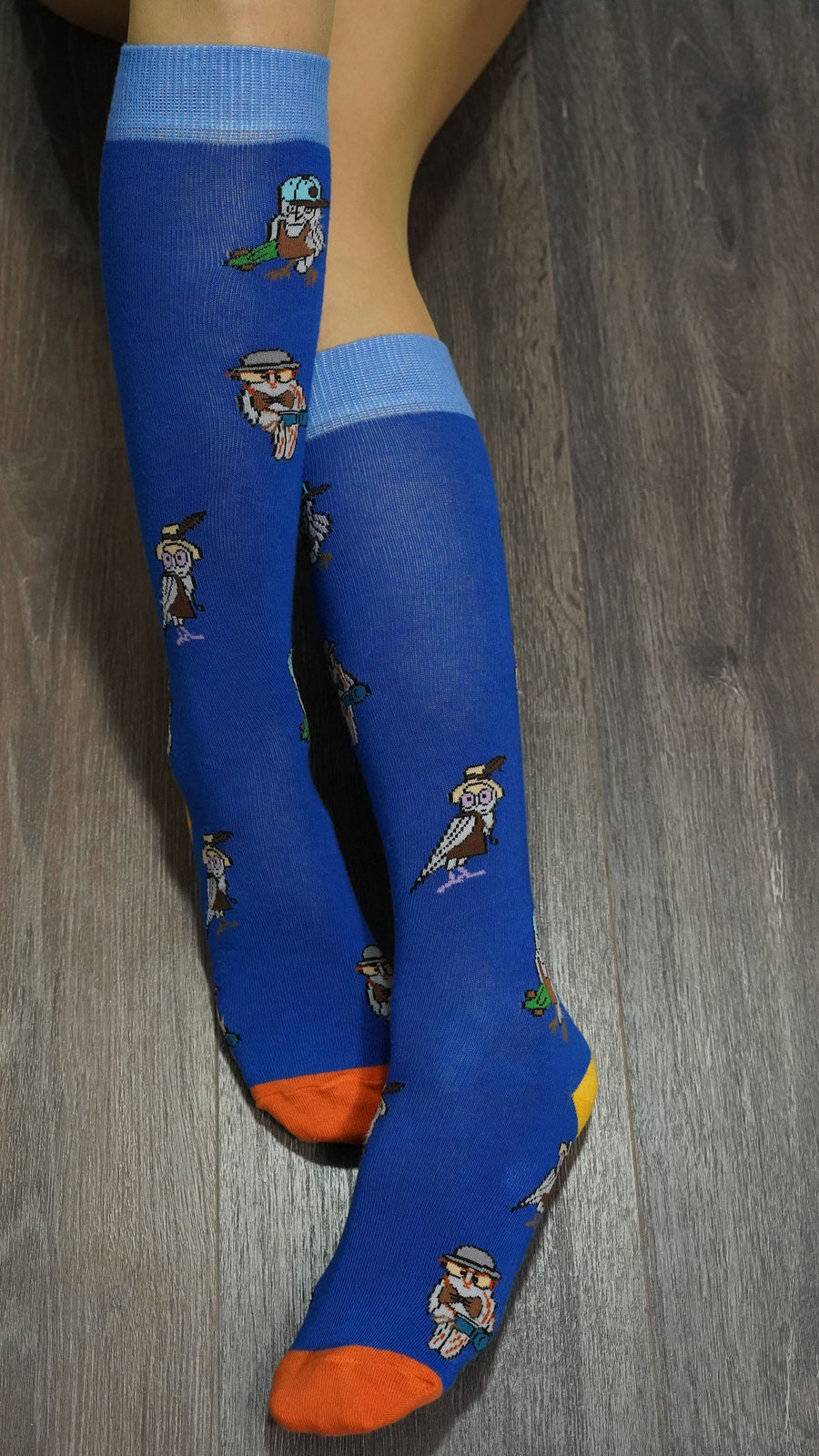 Women's Owl Knee High Socks