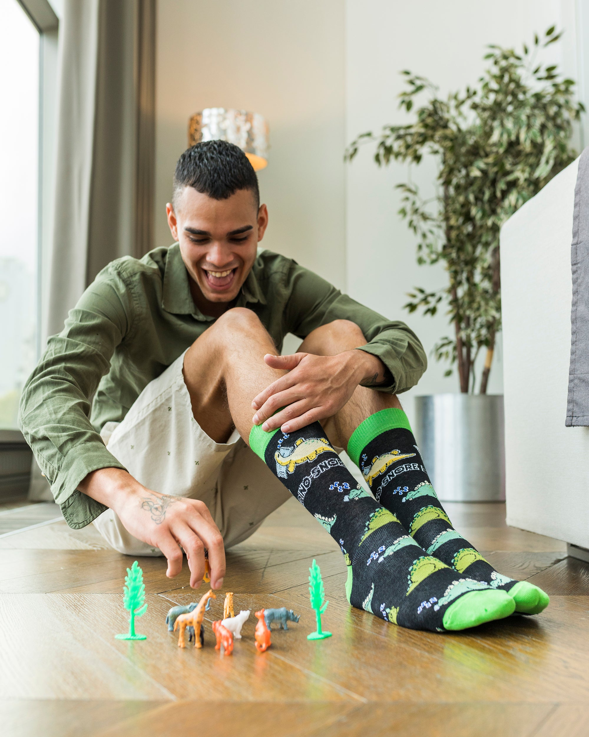 Men's Trendy Puns Socks