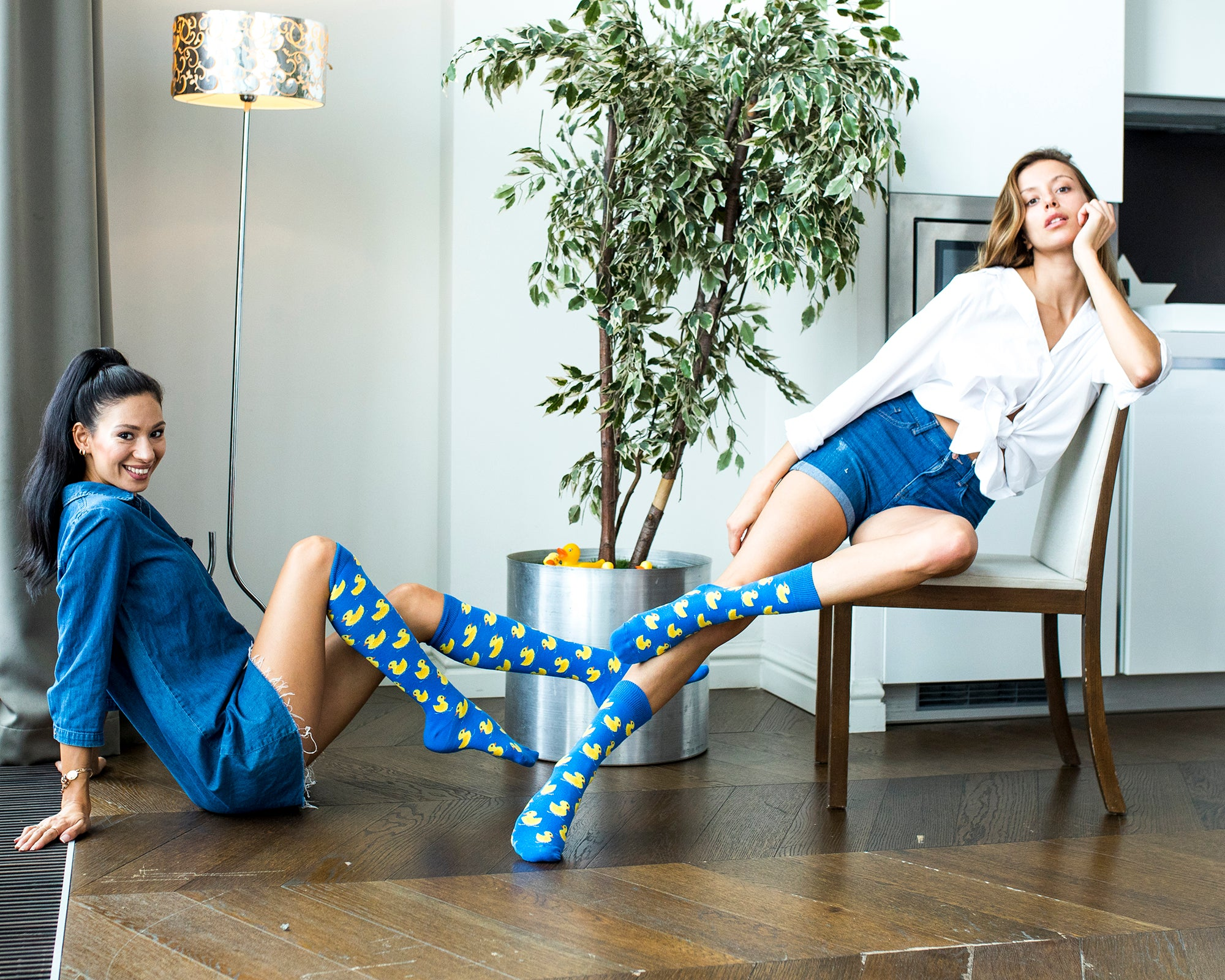 Women's Rubberduck Socks
