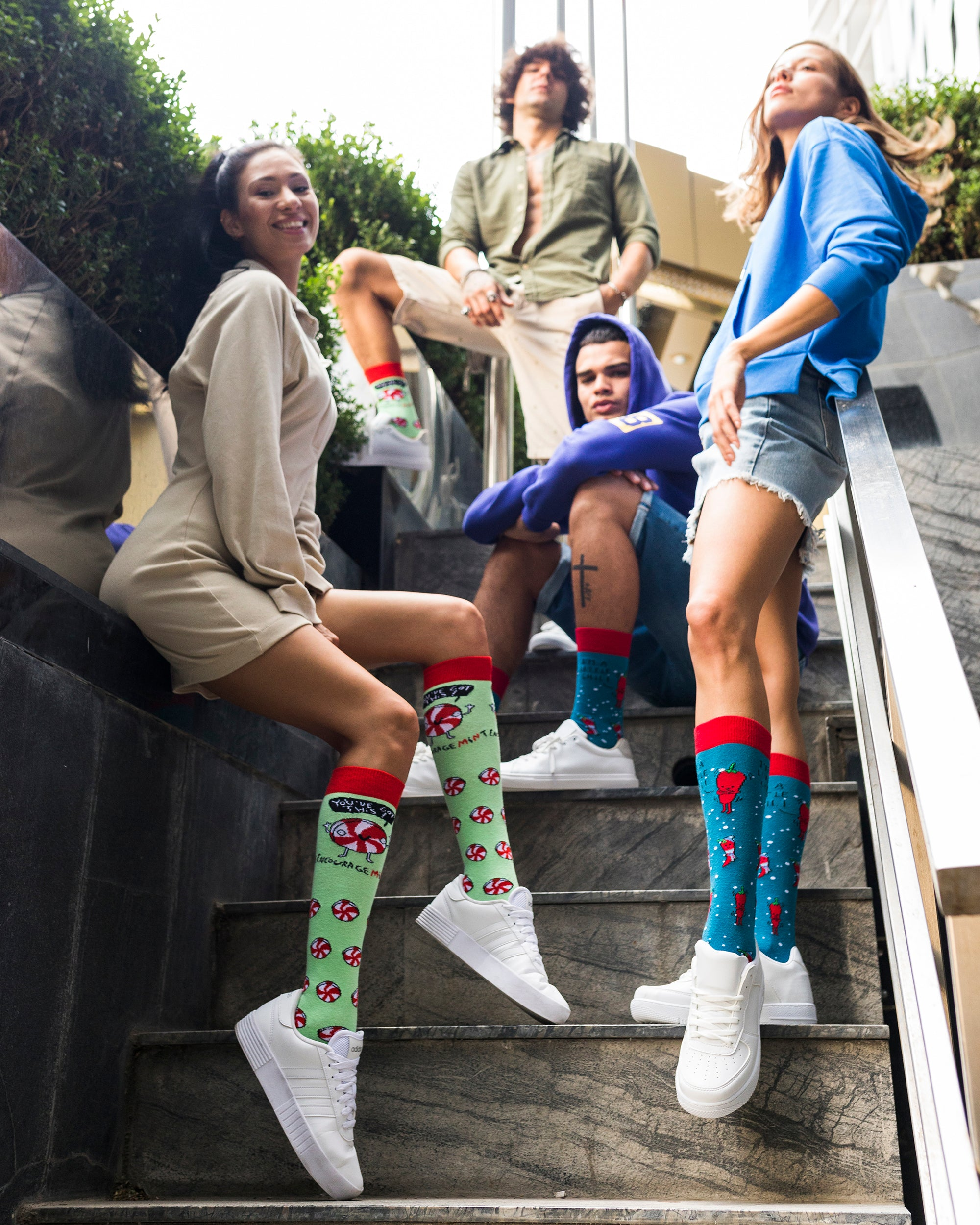 Men's Encourage'mint' Socks