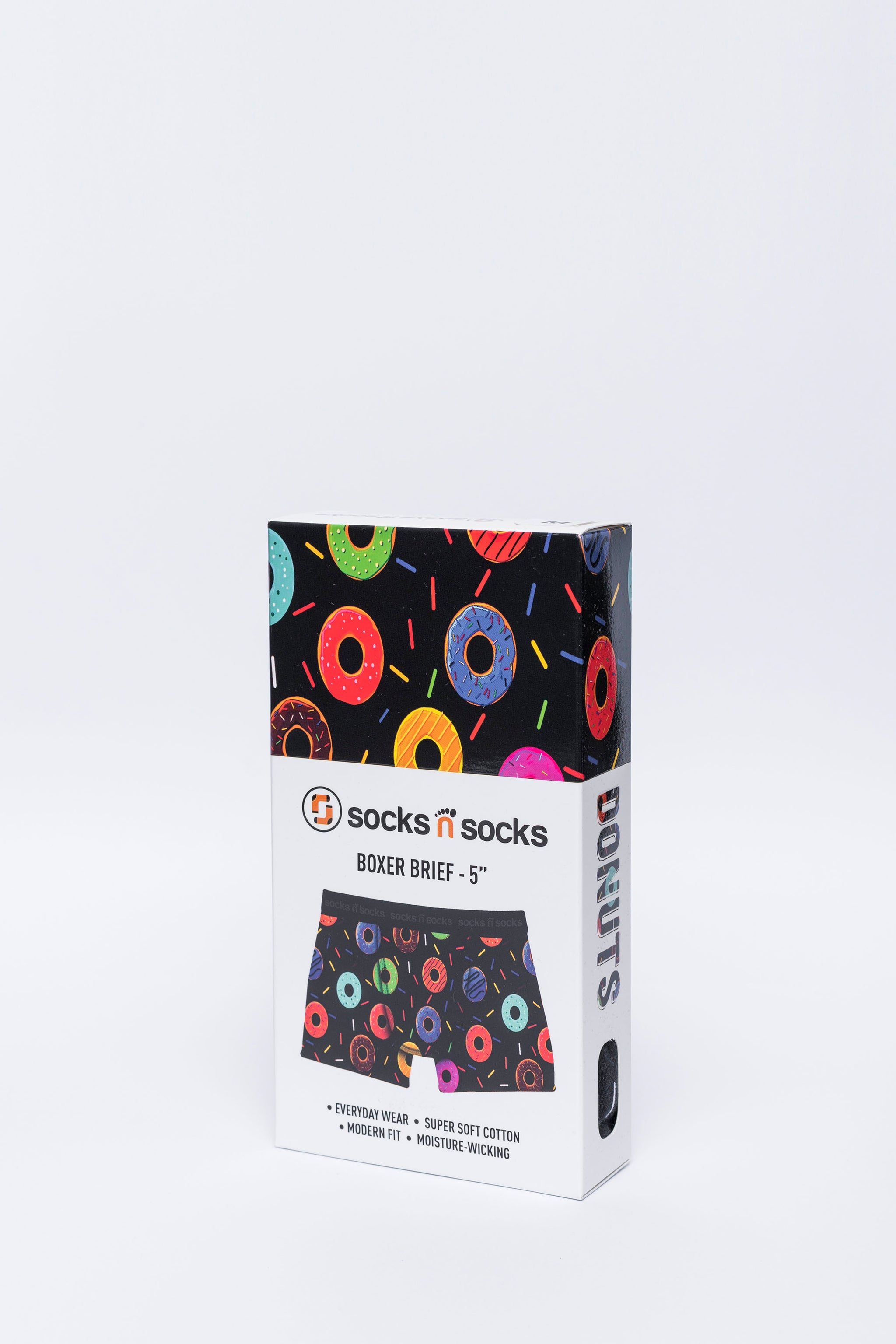 Men's Donuts Boxer Brief
