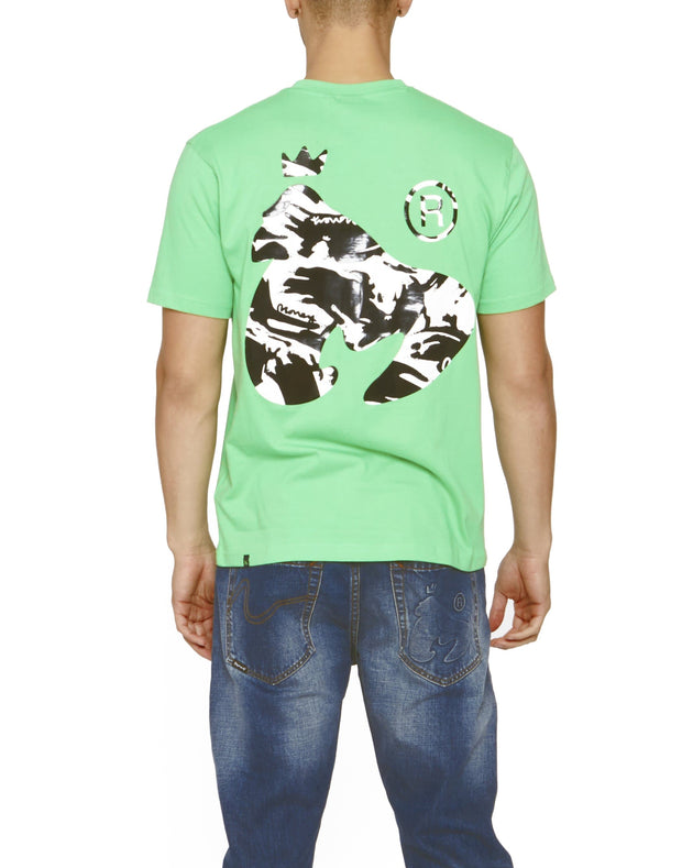 SIG APE NIGHT CAMO TEE	 GREEN