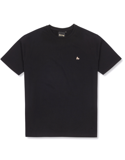 BLACK APE OUT GRID TEE