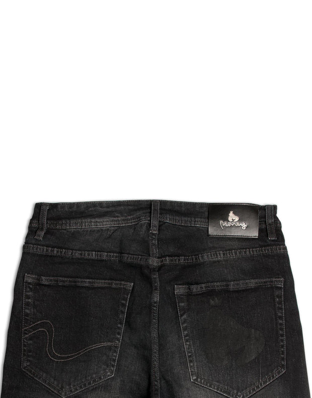 Money Black Denim S