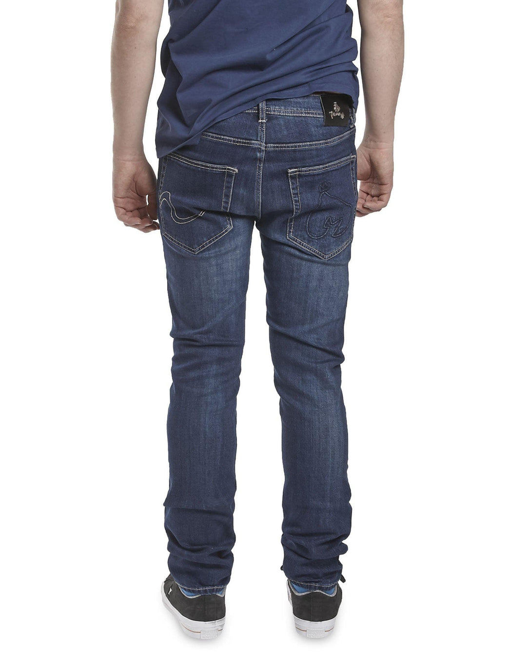 Money Dark Indigo Denim T