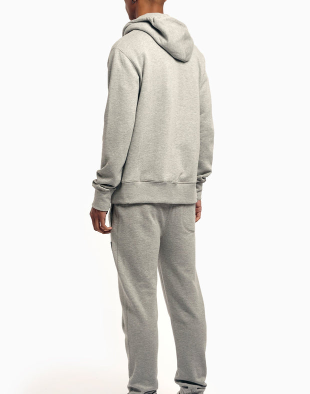 A-TRACK ZIP TRACKSUIT GREY