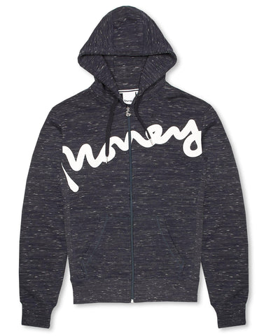 Money Sig Zip Through Hoody