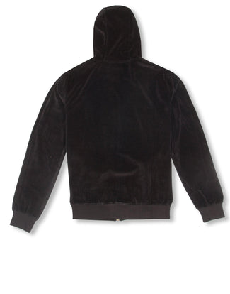 Velour Zip Hoody