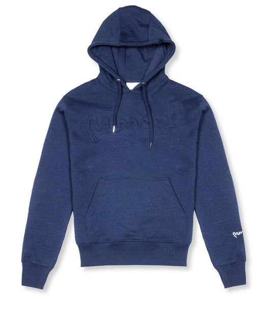 SIGNATURE LOGO EMBOSSED HOODY