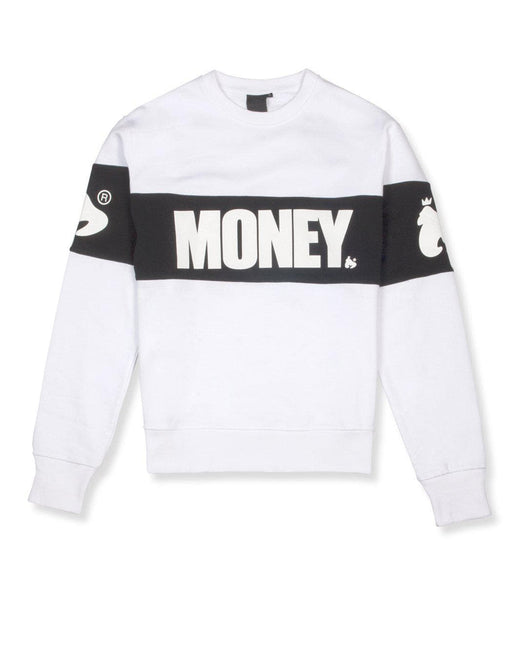 Money Block Crew Neck Sweatshirt