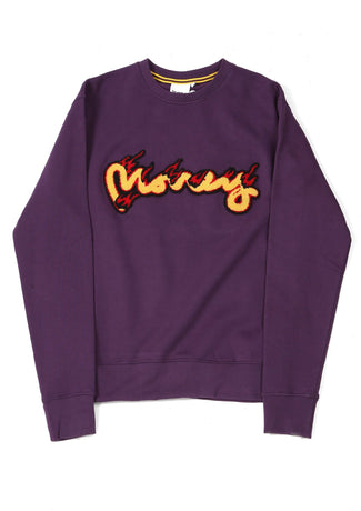 MONEY  FLAMES CREW PURPLE