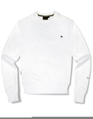 SIG OUT GRID CREW WHITE