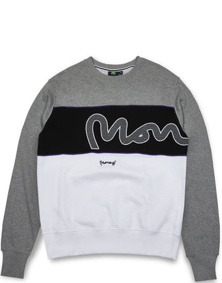 MONEY SIG PANEL CREW GREY