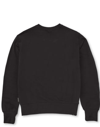 CHENILLE PRESS CREW BLACK