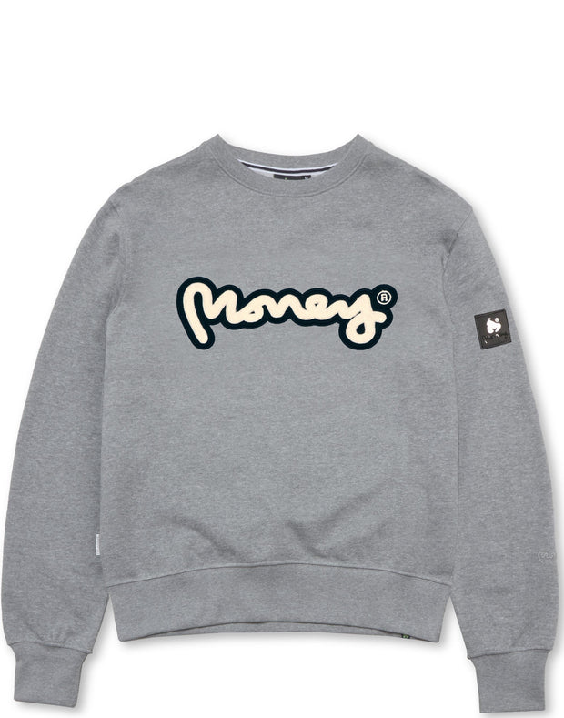 CHENILLE PRESS CREW GREY