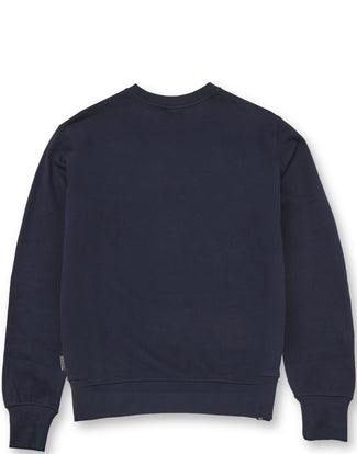CHENILLE PRESS CREW NAVY