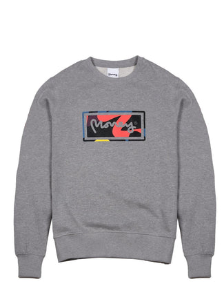 SUPER START CREW GREY MELANGE