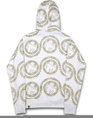 AZTEC COINS HOOD WHITE