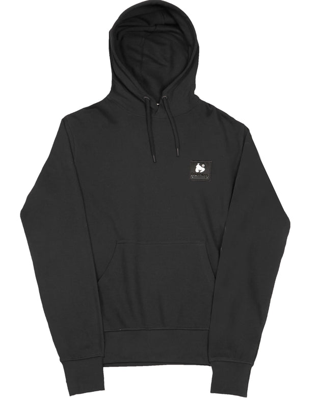 COMBO PATCH HOOD BLACK