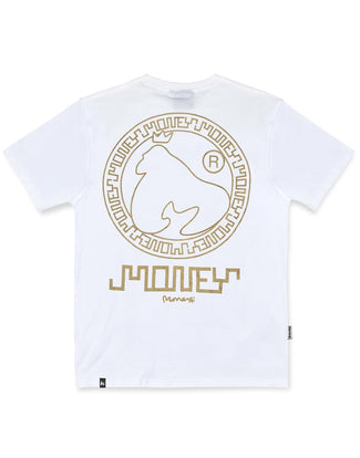 AZTEC GOLD TEE WHITE