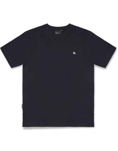 SID OUT GRID TEE BLACK