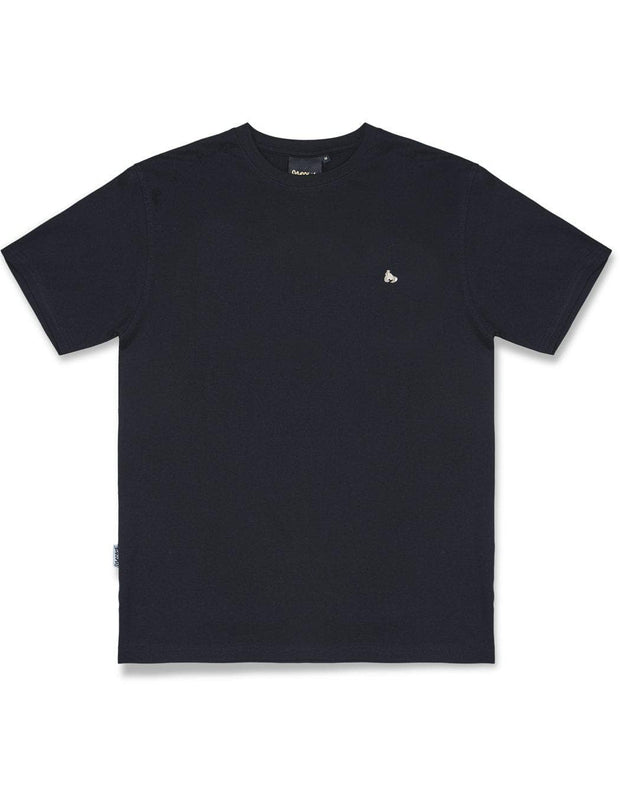 SIG OUT GRID TEE BLACK