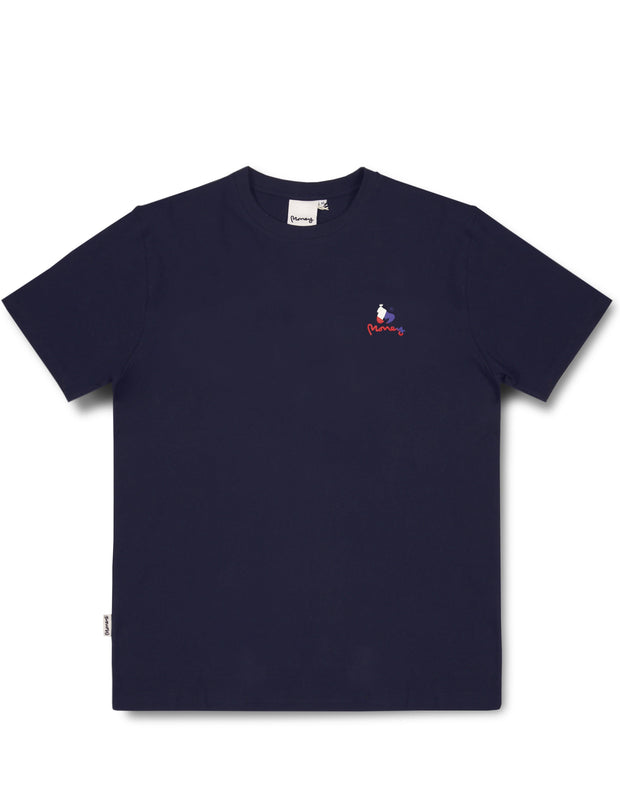 MONEY SPLICE TEE NAVY