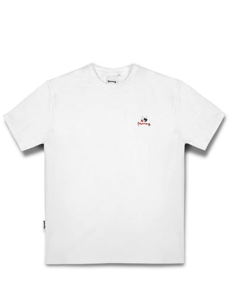 MONEY SPLICE TEE WHITE