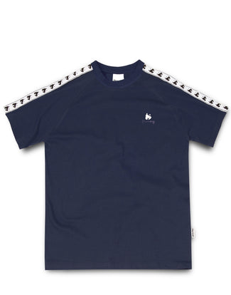 A-TRACK TEE NAVY