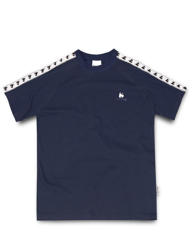 MONEY TAPE S/S TEE NAVY