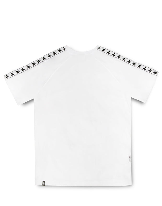 MONEY TAPE S/S TEE WHITE