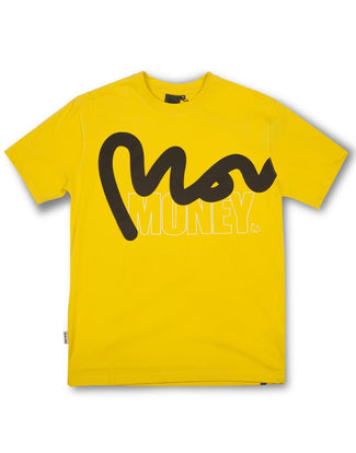 STENCIL BLOCK TEE YELLOW