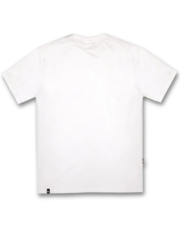 A-TRACK TEE WHITE