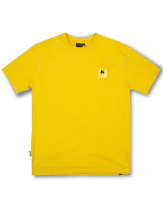 A-TRACK TEE YELLOW