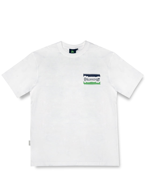 MONEY SIG TICKET TEE WHITE