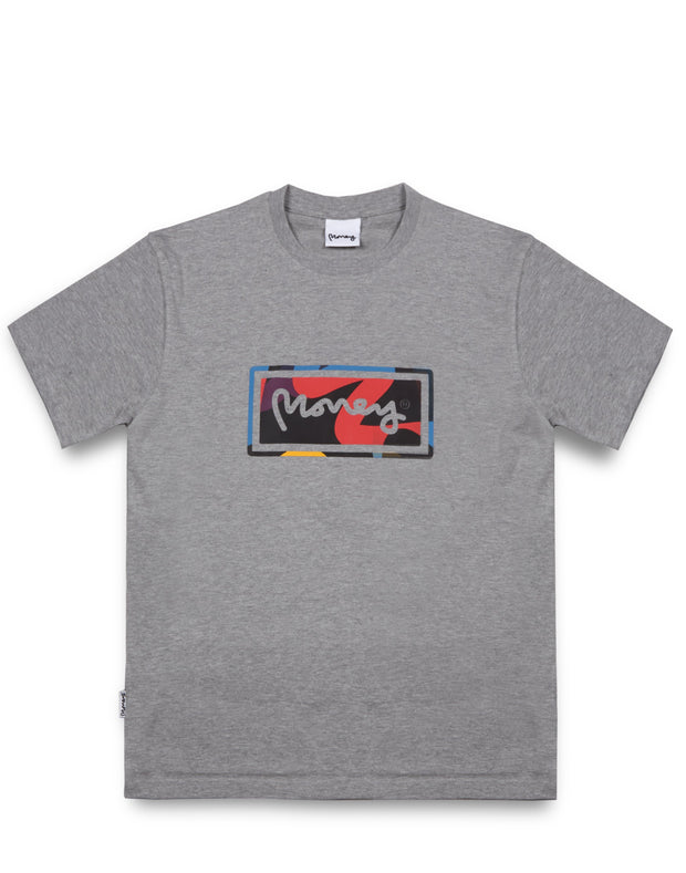 SUPER START TEE GREY MELANGE